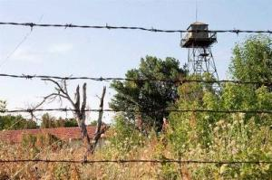 Iron curtain no mans land