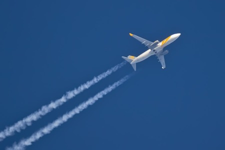 Boeing 737-800 in flight